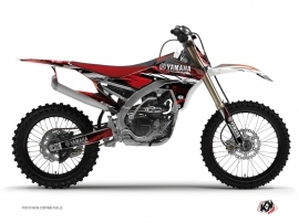 Yamaha 450 YZF Dirt Bike TECHNO Graphic kit Red