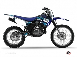 Graphic Kit Dirt Bike Techno Yamaha TTR 125 Blue