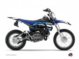 Graphic Kit Dirt Bike Techno Yamaha TTR 90 Blue