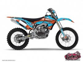 Graphic Kit Dirt Bike Yamaha 450 YZF Thomas Allier - 2011