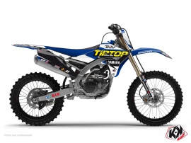 Yamaha 450 YZF Dirt Bike REPLICA TEAM TIP TOP Graphic kit