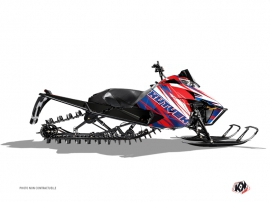 Arctic Cat Pro Climb Snowmobile Torrifik Graphic Kit Blue Red