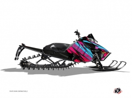Arctic Cat Pro Climb Snowmobile Torrifik Graphic Kit Pink Blue