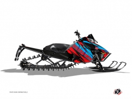 Arctic Cat Pro Climb Snowmobile Torrifik Graphic Kit Red Blue