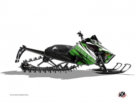 Arctic Cat Pro Climb Snowmobile Torrifik Graphic Kit Green Black