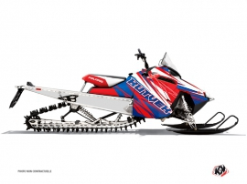 Polaris RMK Snowmobile TORRIFIK Graphic kit Blue Red