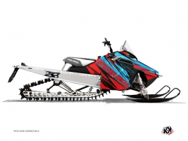 Polaris RMK Snowmobile TORRIFIK Graphic kit Red Blue