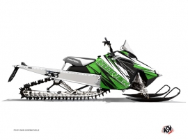 Polaris RMK Snowmobile TORRIFIK Graphic kit Green Black