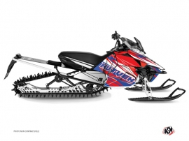 Yamaha SR Viper Snowmobile Torrifik Graphic Kit Blue Red