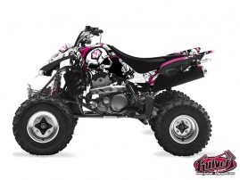Kawasaki 400 KFX ATV TRASH Graphic kit Black Pink