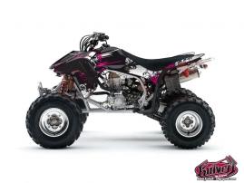 Graphic Kit ATV Trash Honda 450 TRX Black Pink