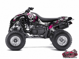 Kawasaki 700 KFX ATV TRASH Graphic kit Black Pink