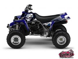 Yamaha Banshee ATV TRASH Graphic kit Black Blue