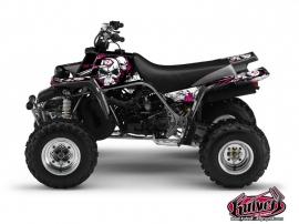 Yamaha Banshee ATV TRASH Graphic kit Black Pink