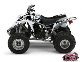 Yamaha Blaster ATV TRASH Graphic kit Black Blue
