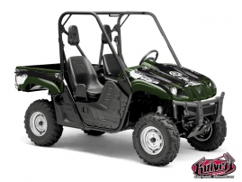 Yamaha Rhino UTV TRASH Graphic kit Green