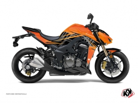 Kawasaki Z 1000 Street Bike ULTIMATE Graphic kit Orange Black