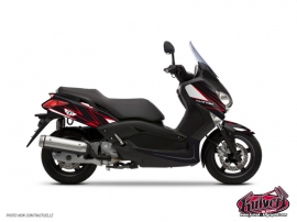 Graphic Kit Maxiscooter Velocity Yamaha XMAX 125 Red