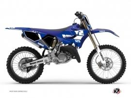 Yamaha 125 YZ Dirt Bike VINTAGE YAMAHA Graphic kit Blue