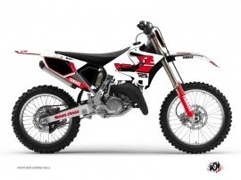 Yamaha 125 YZ Dirt Bike VINTAGE YAMAHA Graphic kit Red