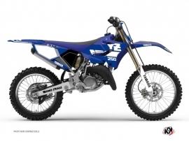 Graphic Kit Dirt Bike Vintage Yamaha 250 YZ Blue