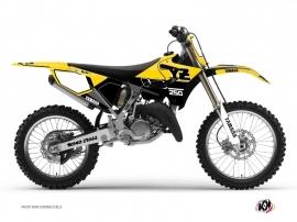 Graphic Kit Dirt Bike Vintage Yamaha 250 YZ Yellow