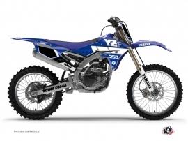 Graphic Kit Dirt Bike Vintage Yamaha 250 YZF Blue
