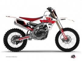 Graphic Kit Dirt Bike Vintage Yamaha 250 YZF Red