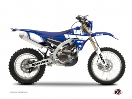 Yamaha 450 WRF Dirt Bike VINTAGE YAMAHA Graphic kit Blue