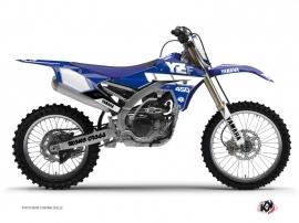 Graphic Kit Dirt Bike Vintage Yamaha 450 YZF Blue