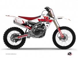 Graphic Kit Dirt Bike Vintage Yamaha 450 YZF Red