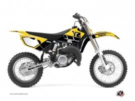Yamaha 85 YZ Dirt Bike VINTAGE YAMAHA Graphic kit Yellow