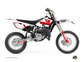Yamaha 85 YZ Dirt Bike VINTAGE YAMAHA Graphic kit Red