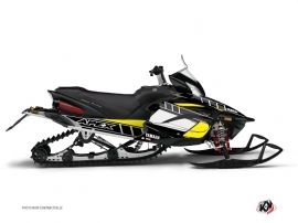 Graphic Kit Snowmobile Vintage Yamaha Apex Yellow