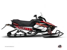 Graphic Kit Snowmobile Vintage Yamaha Apex Red
