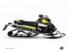 Yamaha FX Nitro Snowmobile VINTAGE YAMAHA Graphic kit Yellow