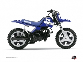 Graphic Kit Dirt Bike Vintage Yamaha PW 50 Blue