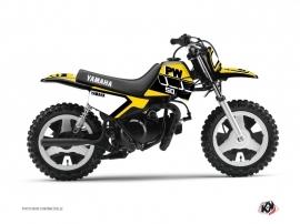 Graphic Kit Dirt Bike Vintage Yamaha PW 50 Yellow