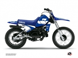Yamaha PW 80 Dirt Bike VINTAGE YAMAHA Graphic kit Blue