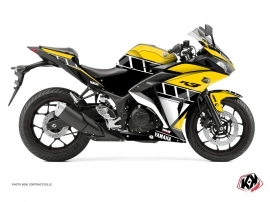 Yamaha R3 Street Bike VINTAGE YAMAHA Graphic kit Yellow