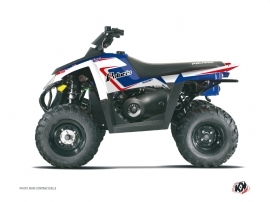 Polaris Scrambler 500 ATV VINTAGE POLARIS Graphic kit Blue