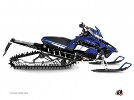 Yamaha SR Viper Snowmobile  Vintage Graphic Kit Blue