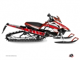 Yamaha SR Viper Snowmobile  Vintage Graphic Kit Red