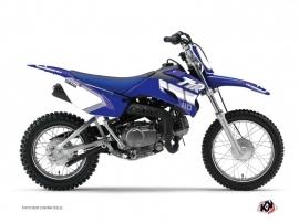 Graphic Kit Dirt Bike Vintage Yamaha TTR 110 Blue