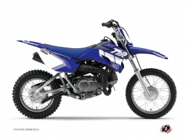 Graphic Kit Dirt Bike Vintage Yamaha TTR 90 Blue