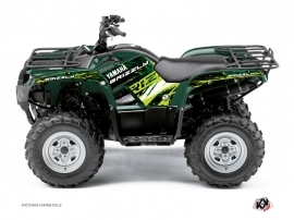 Yamaha 125 Grizzly ATV WILD Graphic kit Green