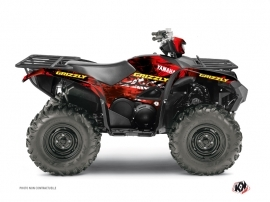 Graphic Kit ATV Wild Yamaha 700-708 Grizzly Red