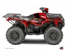 Yamaha 700-708 Kodiak ATV WILD Graphic kit Red