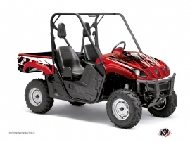 Graphic Kit UTV Wild Yamaha Rhino Red