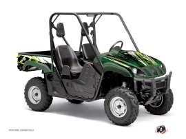 Graphic Kit UTV Wild Yamaha Rhino Green